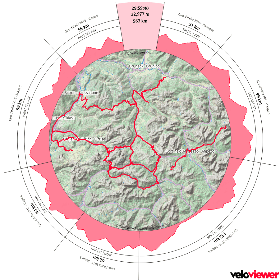 Giro 2015 Corvara Veloviewer