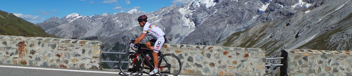 A stage of my Giro d'Italia 2015 - the Stelvio from both ends