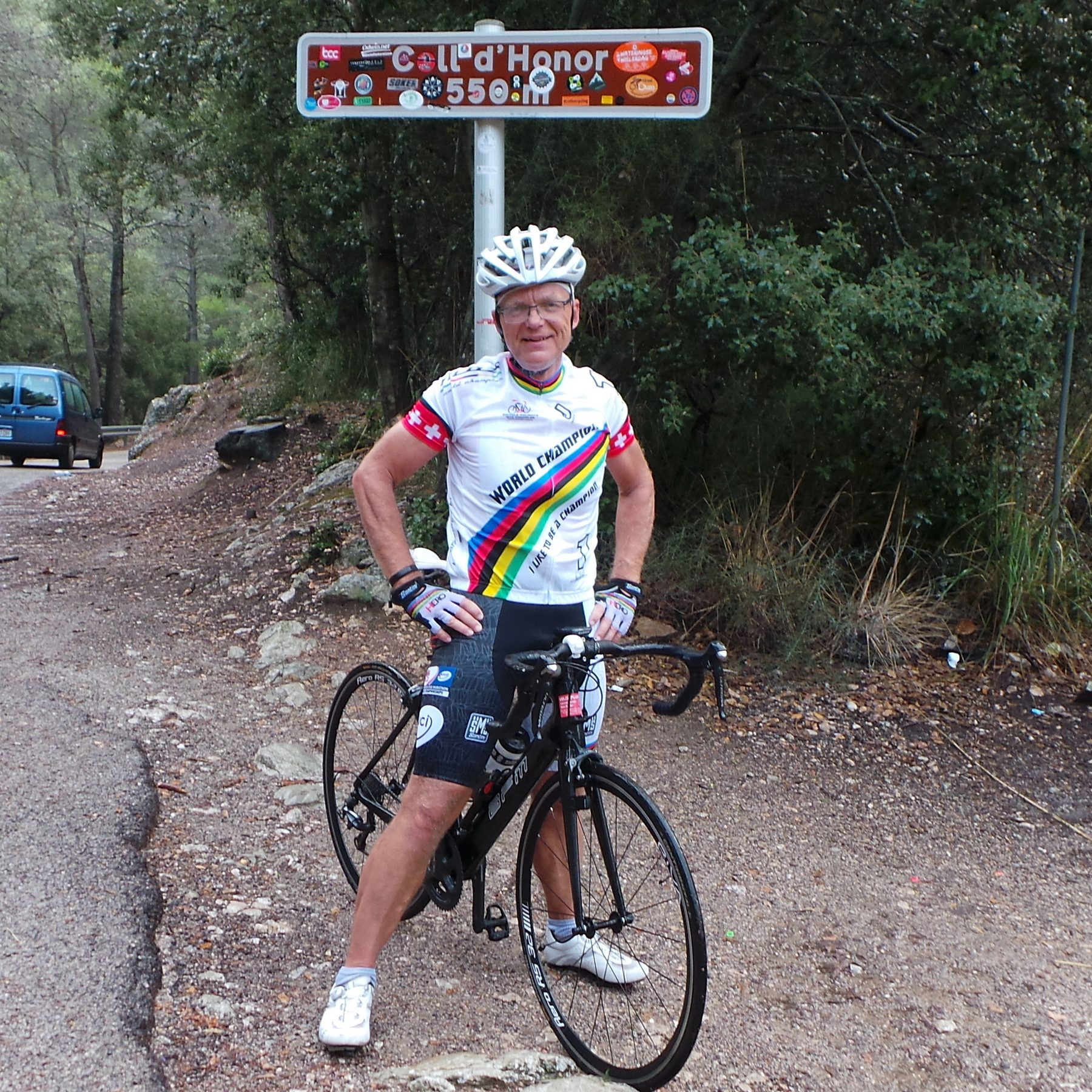 Col d'Honor - wet and cold
