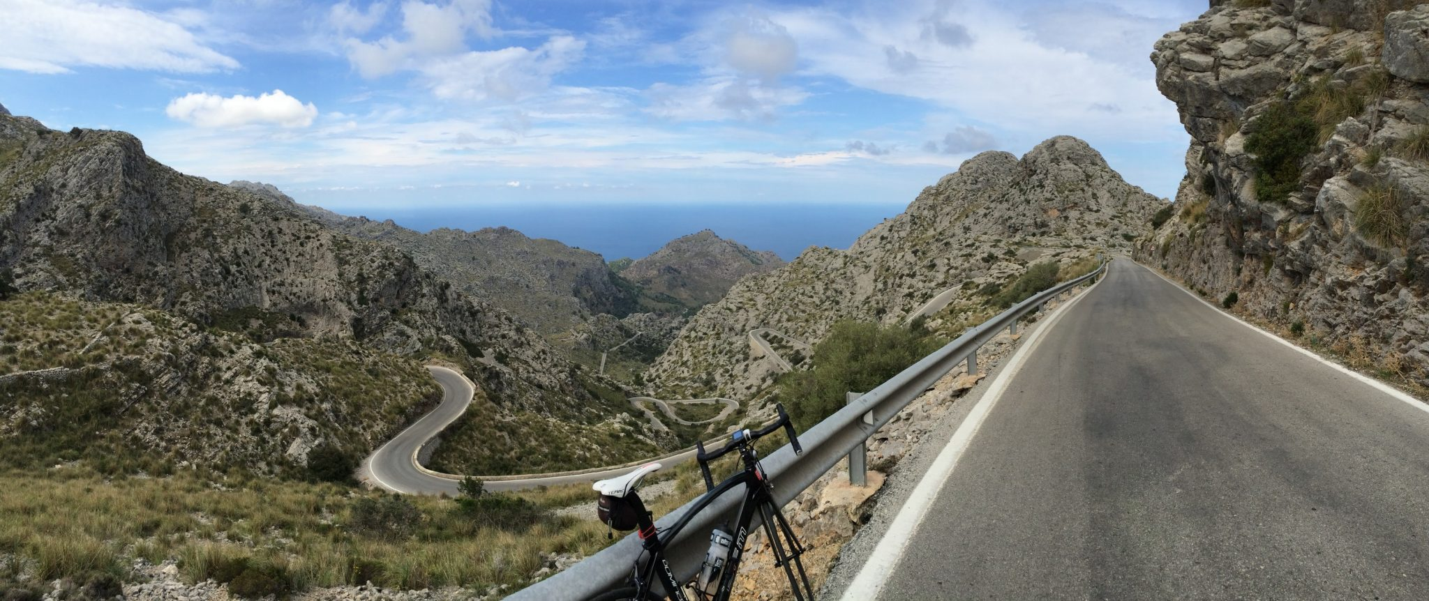 Sa Calobra - view from just before the summit