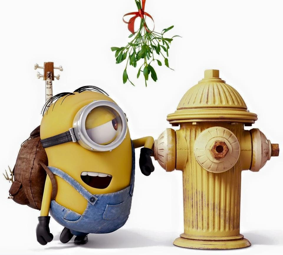 Minion Mistletoe