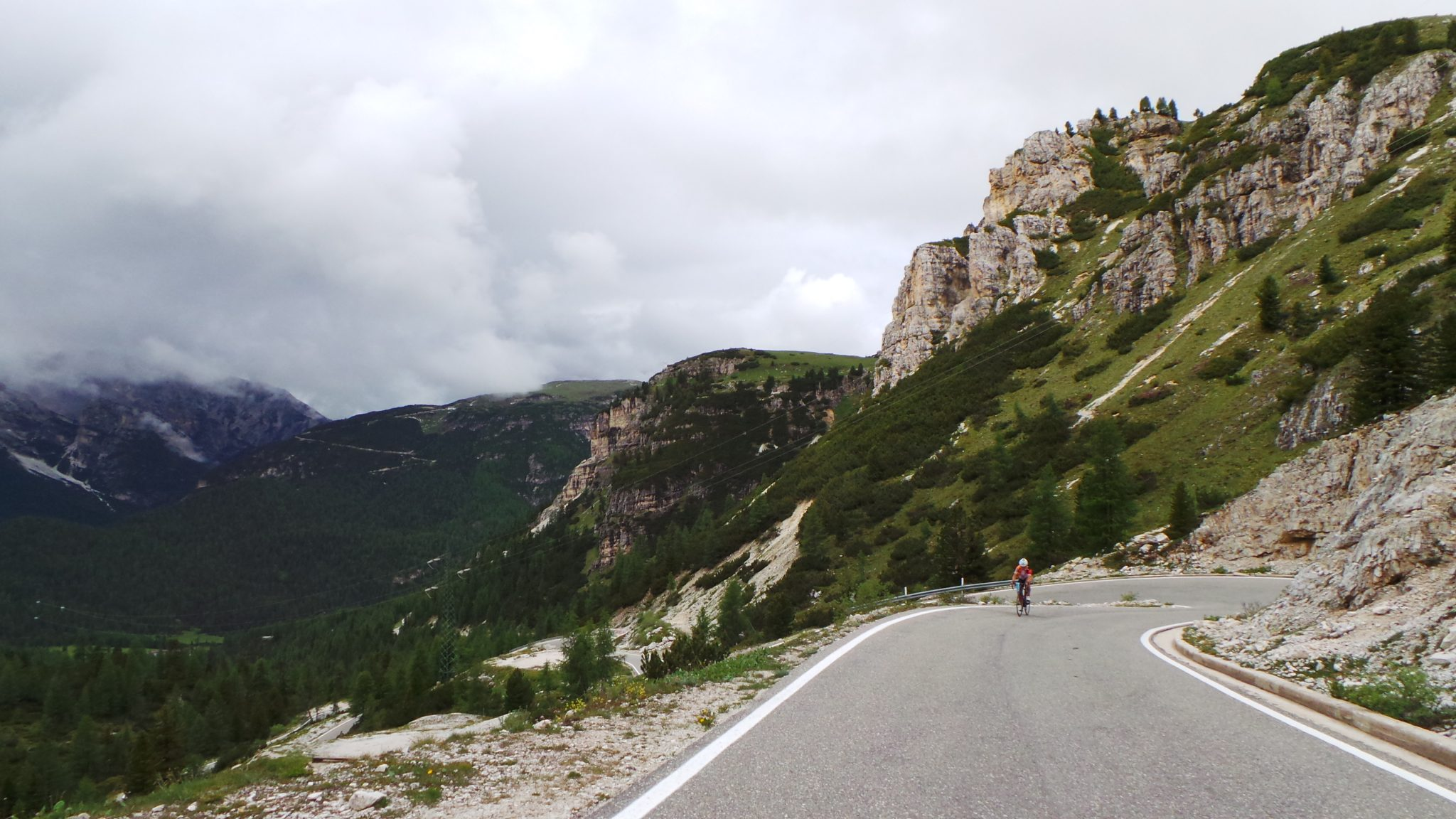The very tough part of Tre Cime di Lavaredo