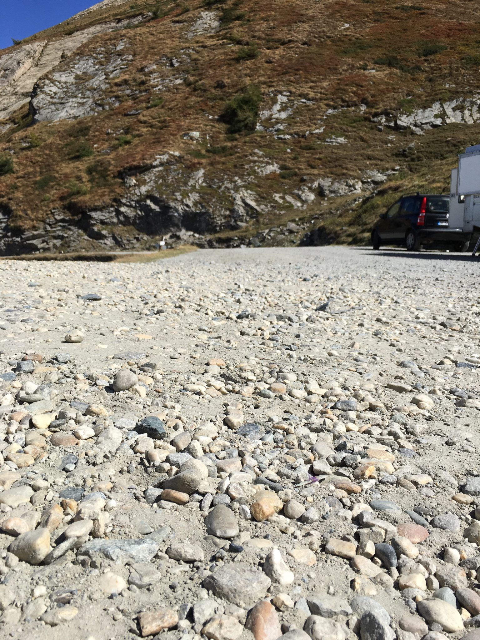 finestreColle delle Finestre - rocks and dirt
